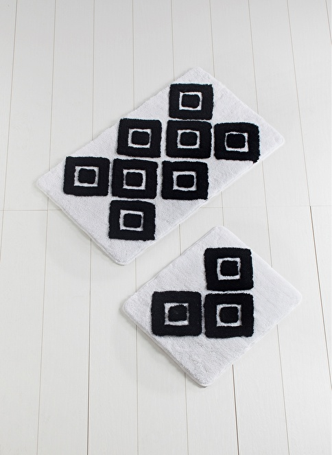 Chilai Home Karo 2'li Paspas Set Beyaz